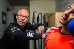Strakka Racing's human Performance manager Stewart Wilde