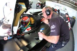 Strakka Racing's Stewart Wilde, human performance manager