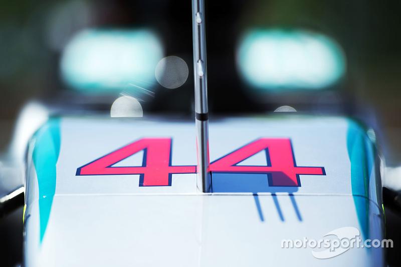 Mercedes AMG F1 W06 of Lewis Hamilton, Mercedes AMG F1