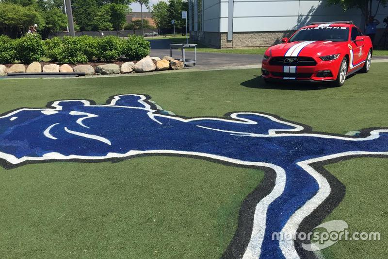 Michigan 400 hız aracı Detroit Lions'da antrenmanda