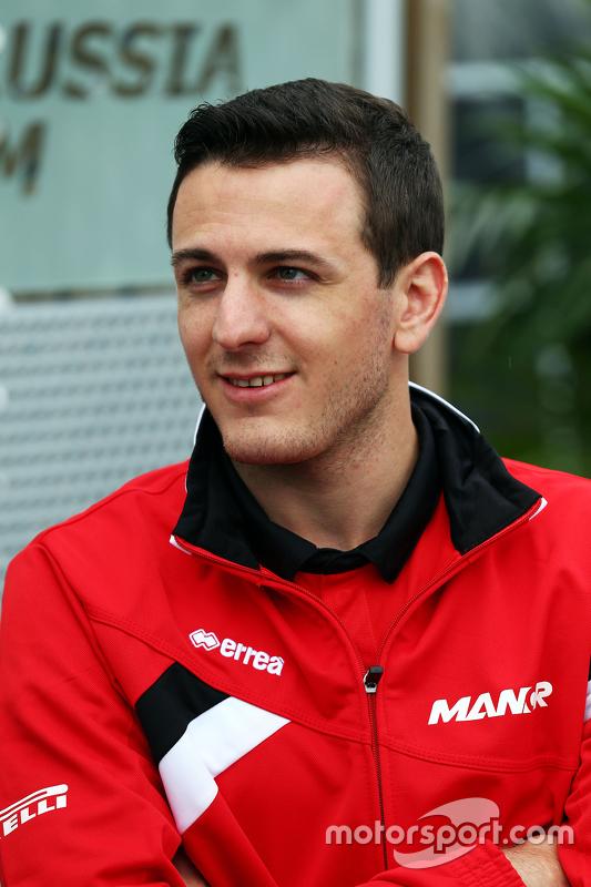 Fabio Leimer, piloto reserva da Manor F1 Team