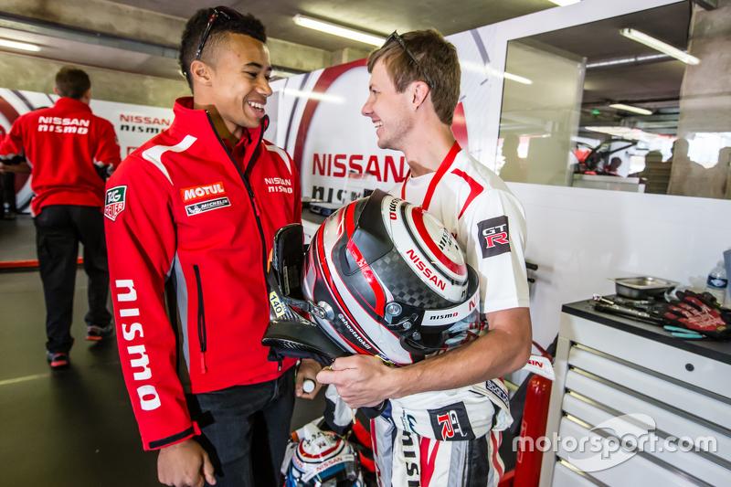 Nissan Motorsports: Jann Mardenborough and Mark Shulzhitskiy