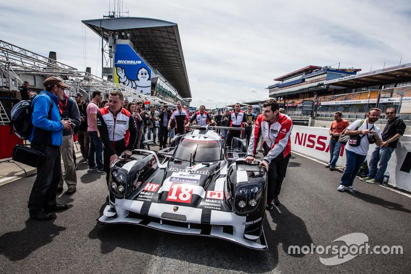 #18 Porsche Team, Porsche 919 Hybrid