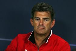 Грэм Лоудон, Manor Marussia F1 Team на пресс-конференции FIA