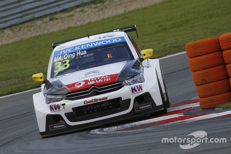 Qing-Hua Ma, Citroën C-Elysee WTCC, Citroën World Touring Car Team