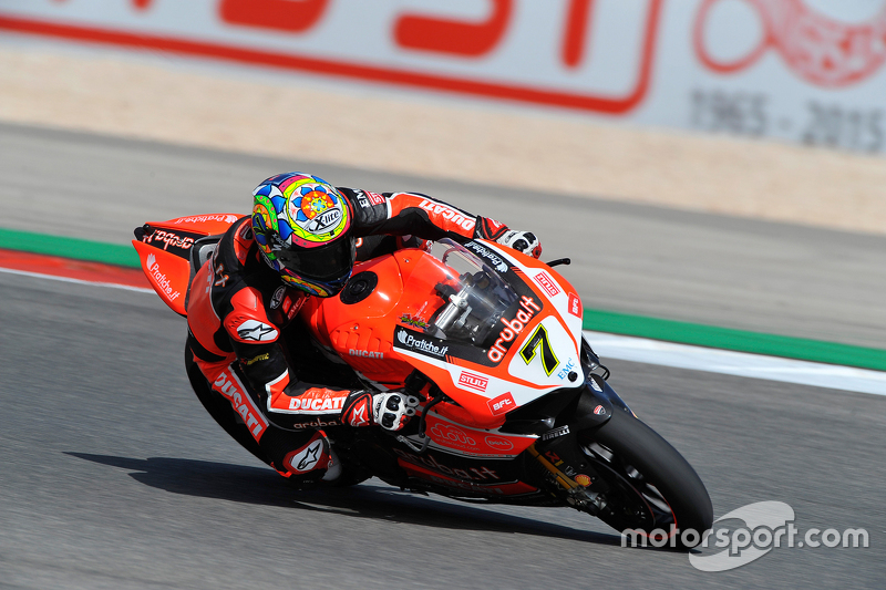 Chaz Davies Ducati Superbike Team