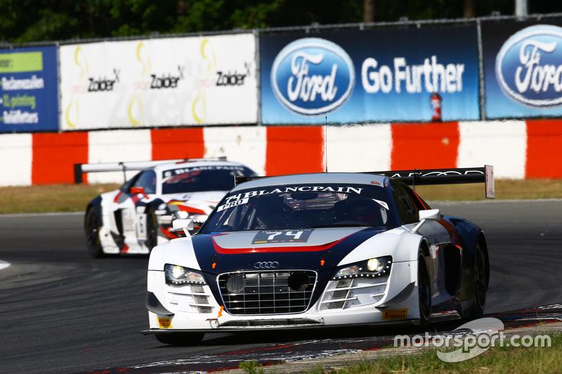 #74 ISR, Audi R8 LMS ultra: Anders Fjordbach, Thomas Fjordbach