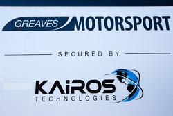Camion et logo Greaves Motorsport