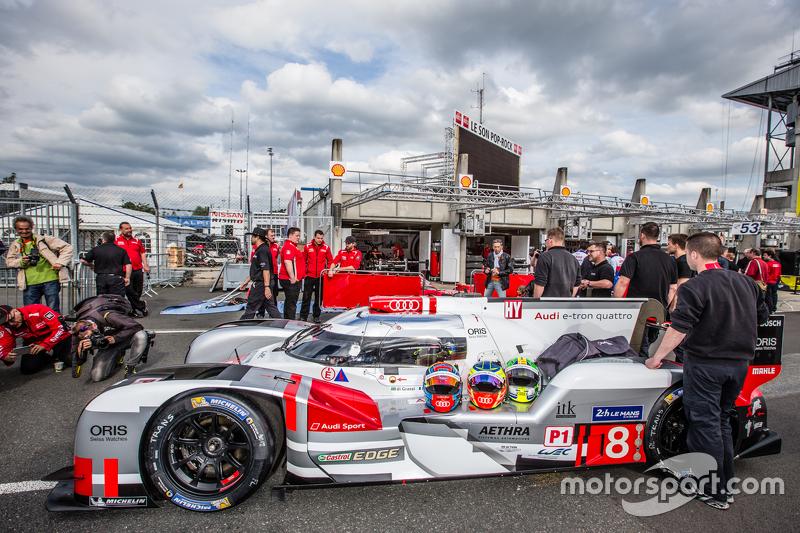 #8 Audi Sport Team Joest, Audi R18 e-tron