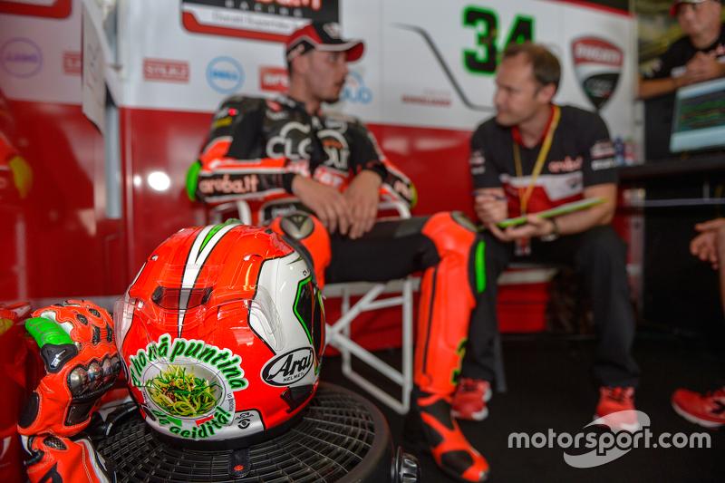 Davide Giugliano, Ducati Superbike Team