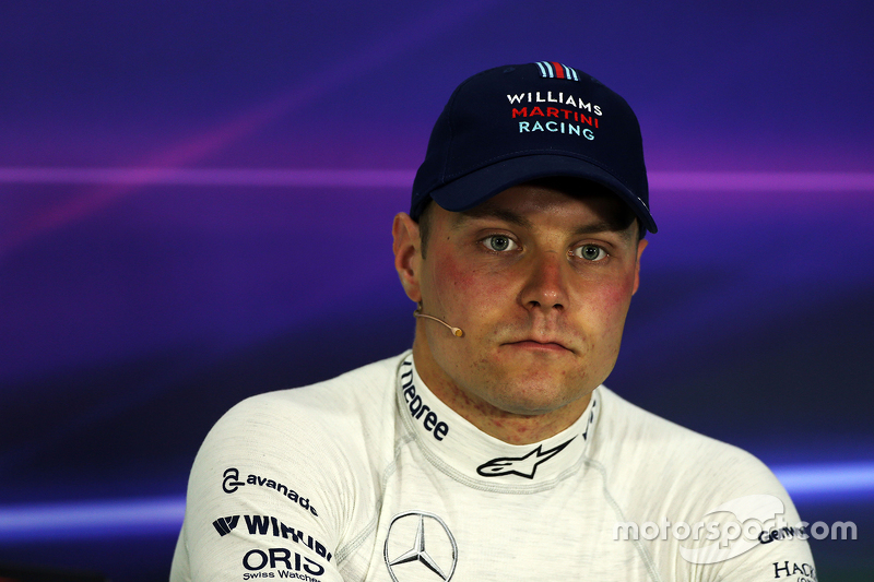Valtteri Bottas, Williams, durante la Conferenza Stampa FIA