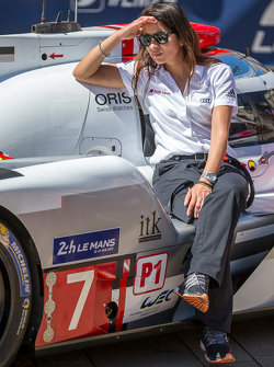#7 Audi Sport Team Joest, Audi R18 e-tron quattro: Leena Gade