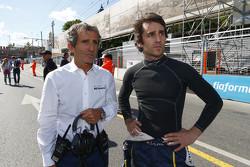 Alain Prost et Nicolas Prost