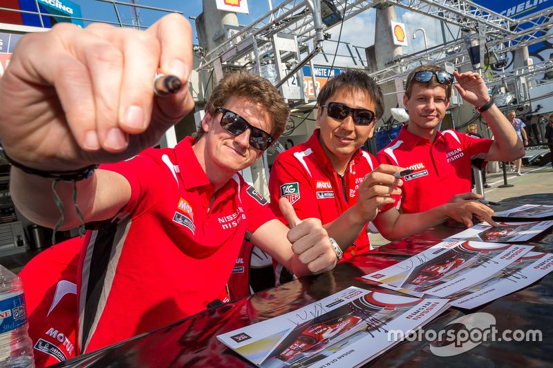 Nissan Motorsports: Tsugio Matsuda, Lucas Ordonez, Mark Shulzhitskiy