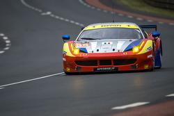 #55 AF Corse Ferrari 458 GTE: Duncan Cameron, Matt Griffin, Alexander Mortimer