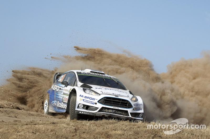 Ott Tanak and Molder Raigo, M-Sport Ford Fiesta WRC