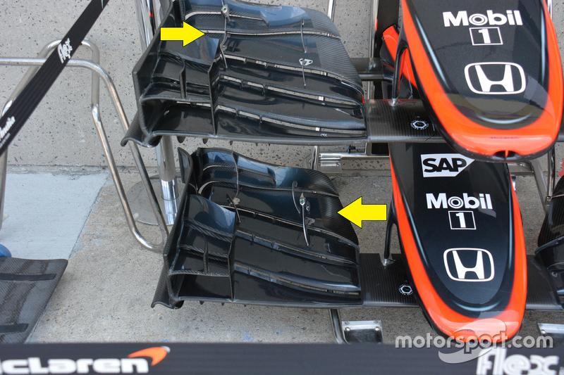 McLaren MP4-30 detayı
