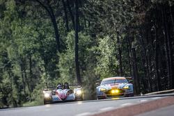 #43 Team SARD-Morand Morgan LM P2 EVO: Пьер Раг, Оливер Уэбб, Цоэль Амберг и #98 Aston Martin Racing Aston Martin Vantage GTE: Пол Далла-Лана, Педро Лами, Матиас Лауда