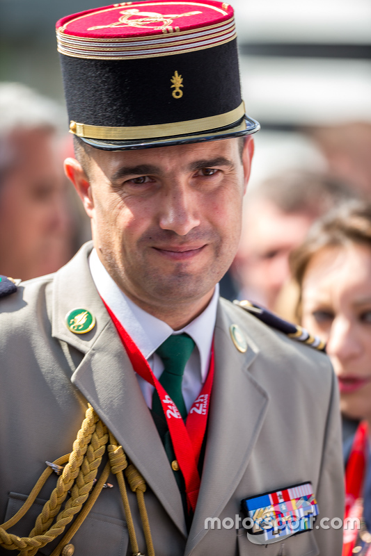 French military Lieutenant-colonel