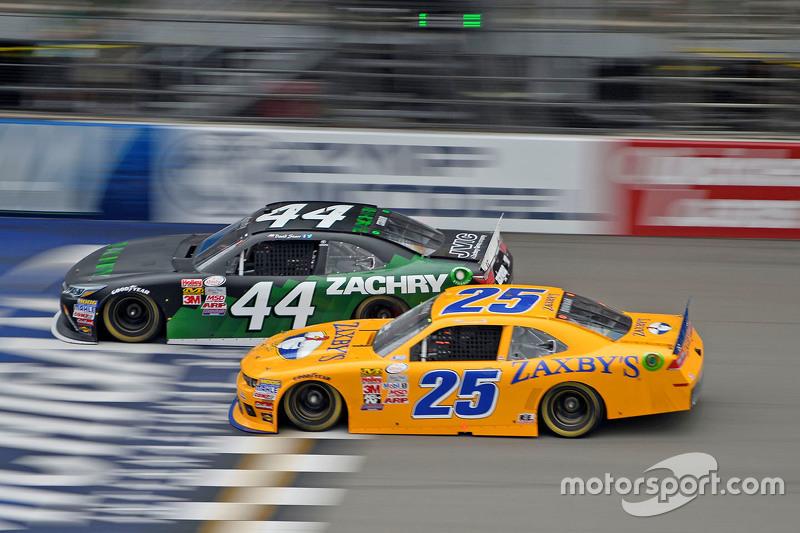 David Starr, TriStar Motorsports, Toyota, und John Wes Townley, Athenia Motorsports, Chevrolet
