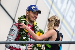 LMP1-Podium: 3. Audi Sport Team Joest, Audi R18 e-tron quattro: André Lotterer