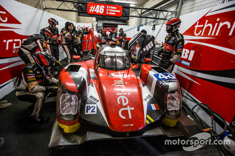 #46 Thiriet by TDS Racing ORECA 05: Tristan Gommendy, Ludovic Badey, Pierre Thiriet