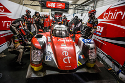 #46 Thiriet by TDS Racing, ORECA 05: Tristan Gommendy, Ludovic Badey, Pierre Thiriet