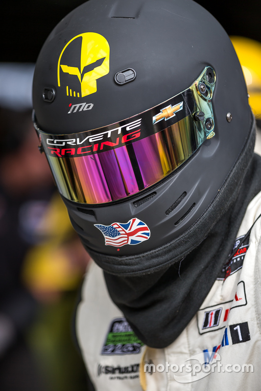 Membro da equipe Corvette Racing