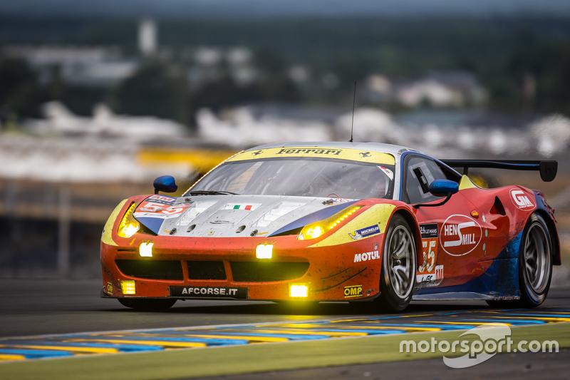 #55 AF Corse Ferrari 458 GTE: Данкан Камерон, Метт Гріффін, Alexта er Mortimer