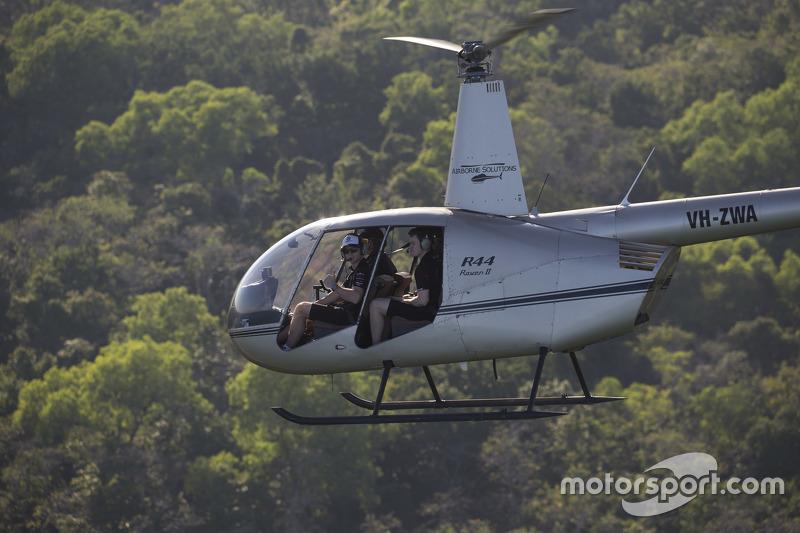 Die Fahrer erkunden vor der Veranstaltung in Darwin noch die örtliche Flora und Fauna
