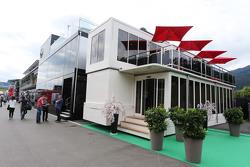 Honda motorhome di paddock