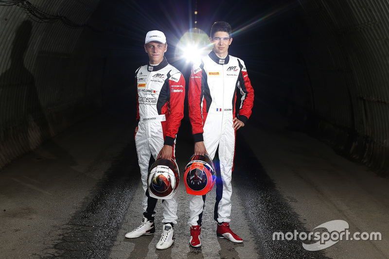 Marvin Kirchhöfer, ART Grand Prix, und Esteban Ocon, ART Grand Prix