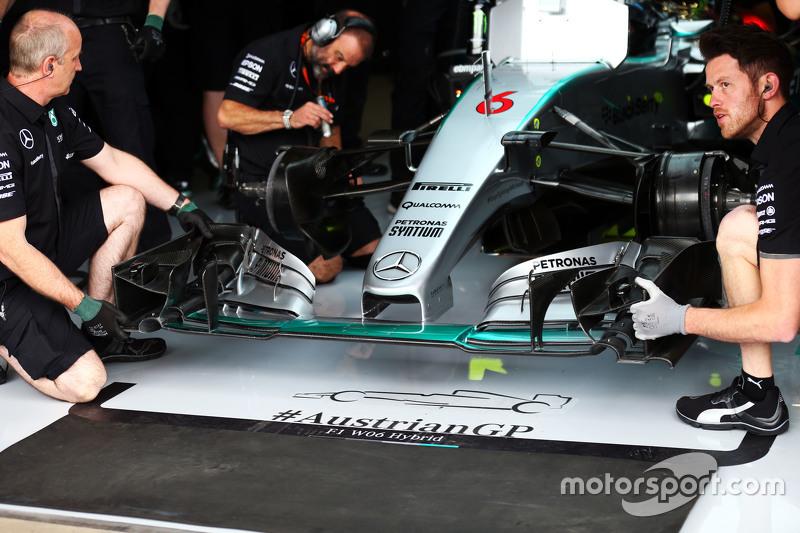 Ніко Росберг, Mercedes AMG F1 W06 - переднє крило