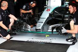 Nico Rosberg, Mercedes AMG F1 W06 voorvleugel