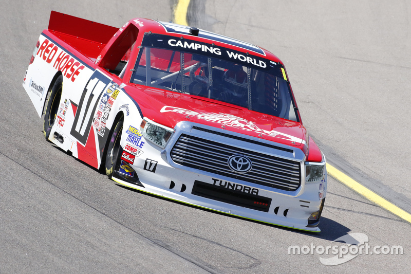 Timothy Peters Red Horse Racing Toyota Bei Iowa Nascar