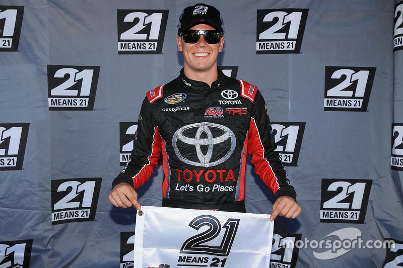 Pole-Sitter: Erik Jones, Kyle Busch Motorsports, Toyota