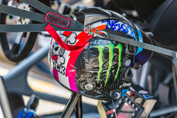 Helmet of Ken Block
