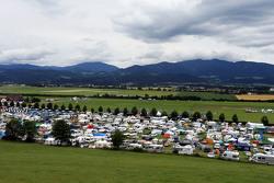 Un camping près du circuit