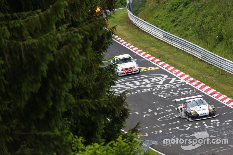 #154 Wochenspiegel Team Manthey, Porsche 911 GT3 RSR: Georg Weiss, Jochen Krumbach, Oliver Kainz
