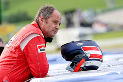 Gerhard Berger, at the Legends Parade