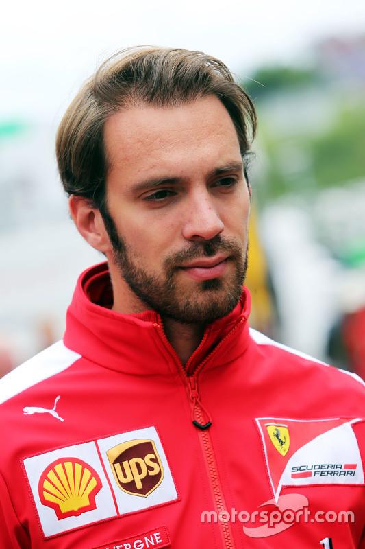 Jean-Eric Vergne, Ferrari-Testfahrer