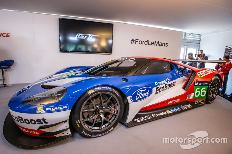The New Ford Gt  Spec Gte That Will Be Raced By Chip Ganassi Racing