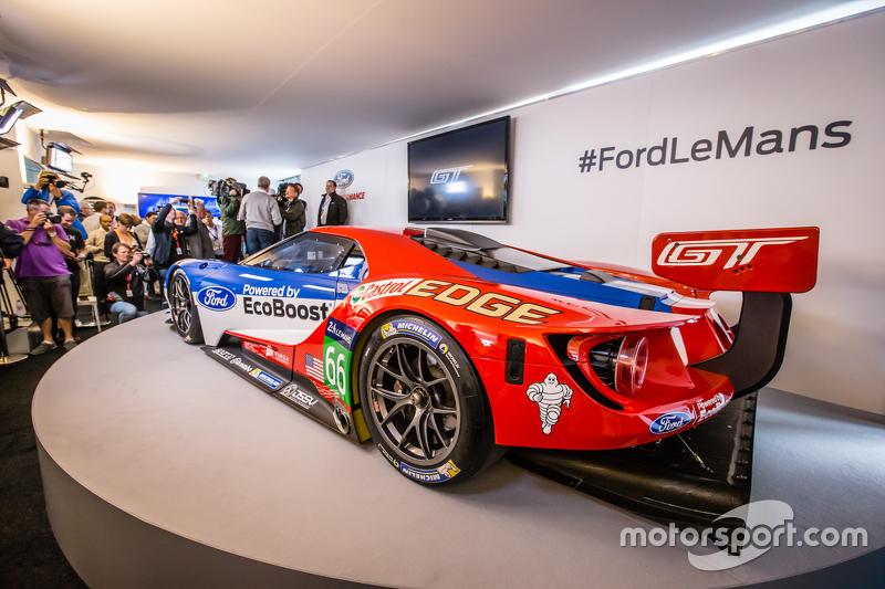 Spek baru GTE Ford GT 2016 yang akan dipakai balapan oleh Chip Ganassi Racing di 24 Hours of Le Mans