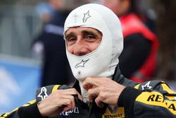 Alain Prost bei der Legenden-Parade