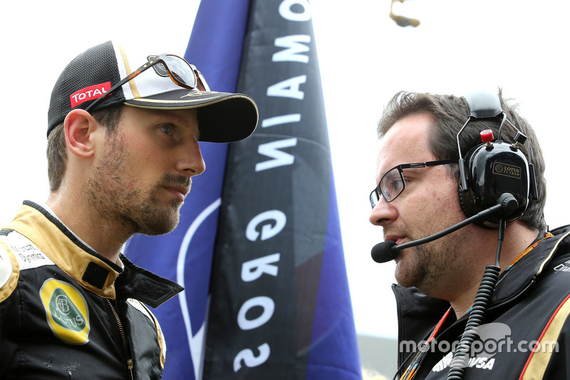 Julien Simon-Chautemps, Lotus F1 Team, Renningenieur von Romain Grosjean