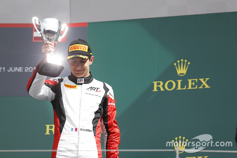 3. Esteban Ocon, ART Grand Prix