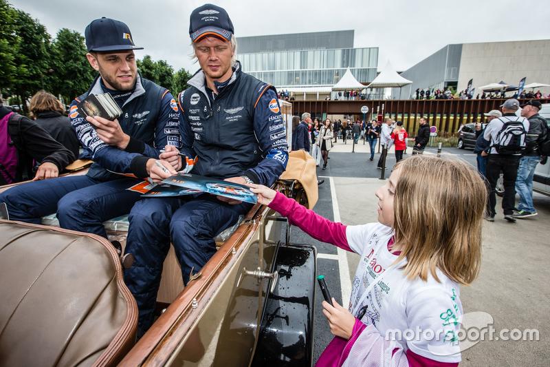 #95 Aston Martin Racing, Aston Martin Vantage GTE: Marco Sörensen und Nicki Thiim