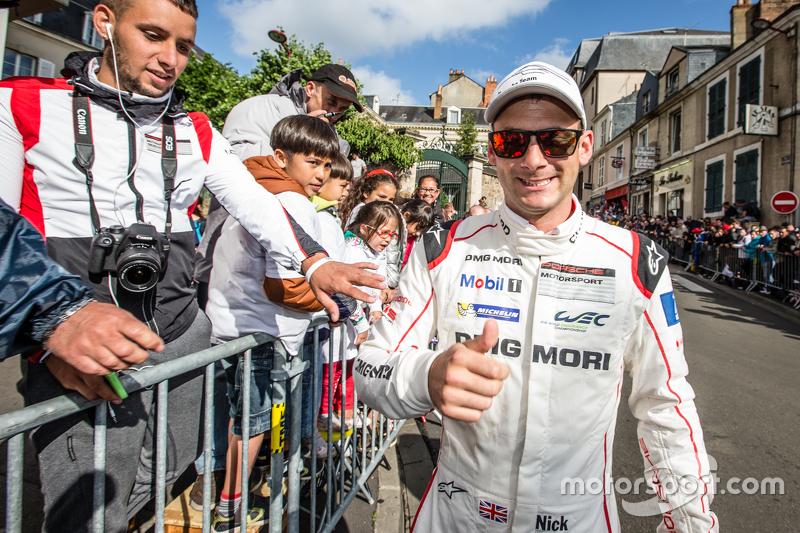 #19 Porsche Team, Porsche 919 Hybrid: Nick Tandy