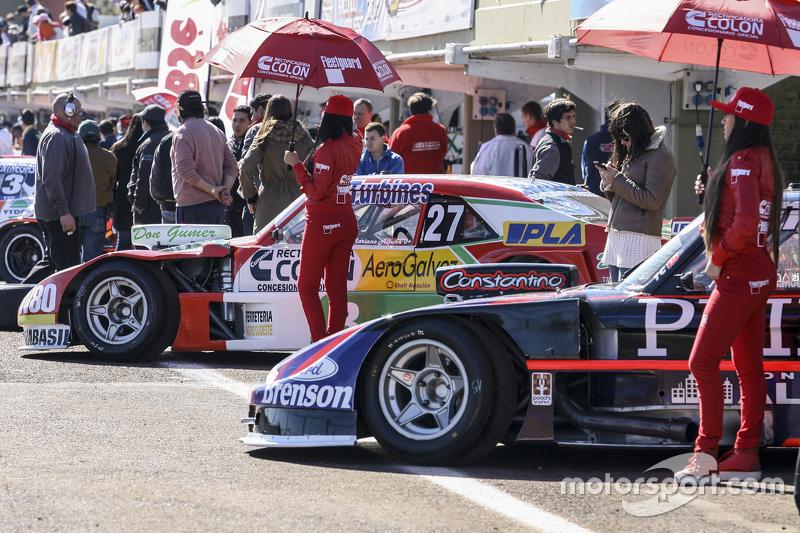Mariano Altuna, Altuna Competicion, Chevrolet, und Emanuel Moriatis, Alifraco Sport, Ford (von hinte