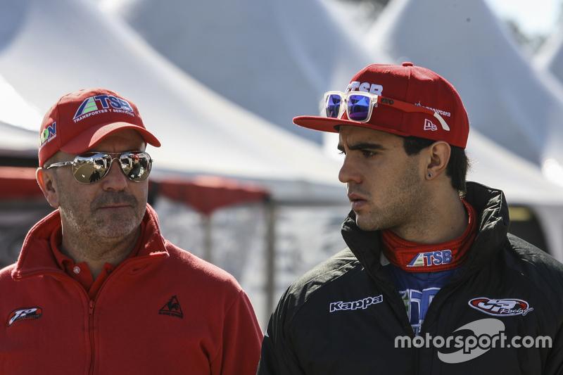 Jose Manuel Urcera, JP Racing Torino and him father